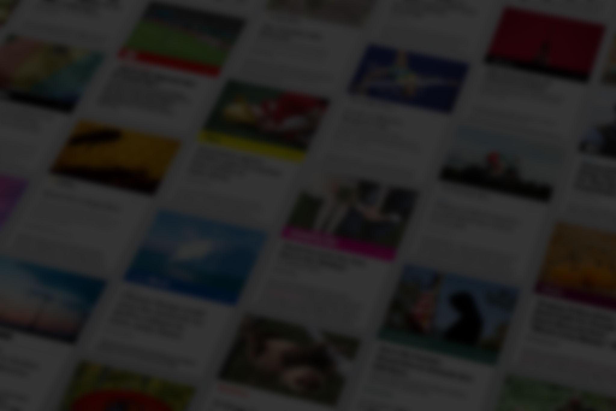 Instant Articles mit schwarzer Färbung